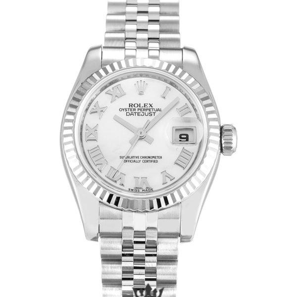Rolex Datejust Replica 179174 004 Silver Strap 26MM