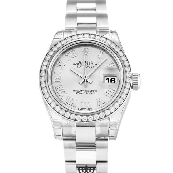 Rolex Datejust Replica 179384 Diamonds Bezel 26MM