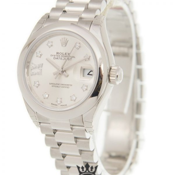 Rolex Datejust Replica 279166SRDP Platinum Gold Dial 28MM