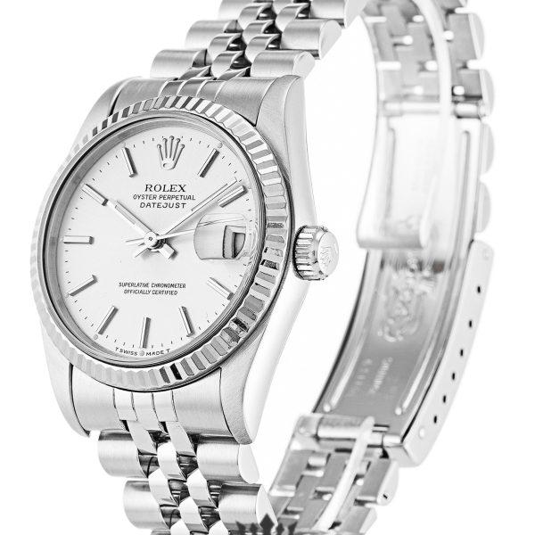 Rolex Datejust Replica 68274 Silver Strap 31MM