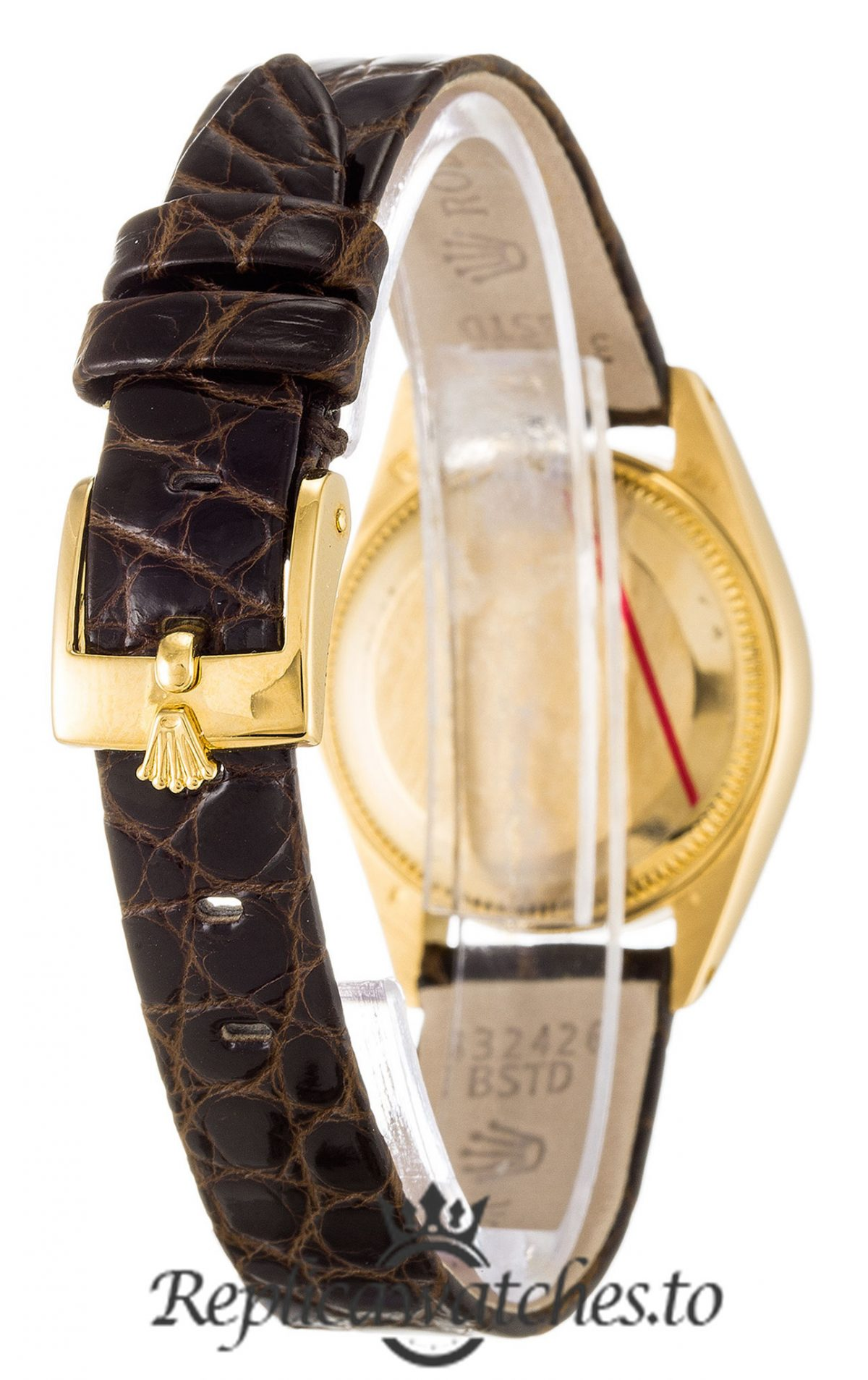 Rolex Datejust Replica 6916 Brown Strap 26MM