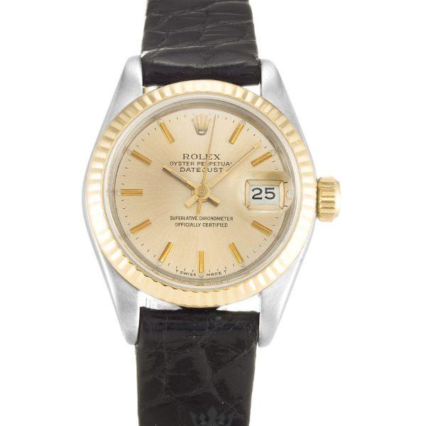 Rolex Datejust Replica 69173 001 Champagne Dial 26MM