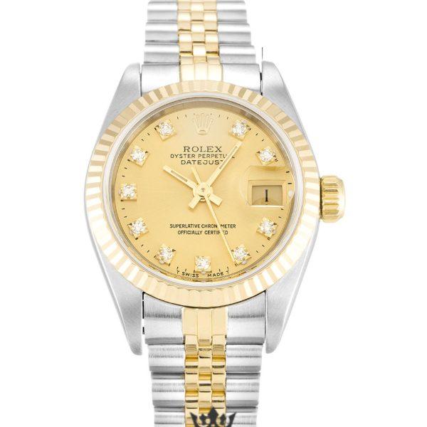 Rolex Datejust Replica 69173 005 Yellow Gold Bezel 26MM