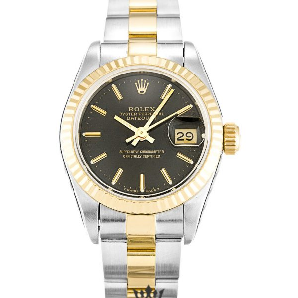 Rolex Datejust Replica 69173 Yellow Gold Bezel 26MM