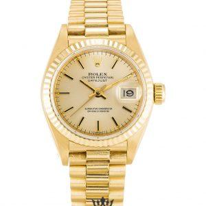 Rolex Datejust Replica 69178 Yellow Gold Strap 26MM
