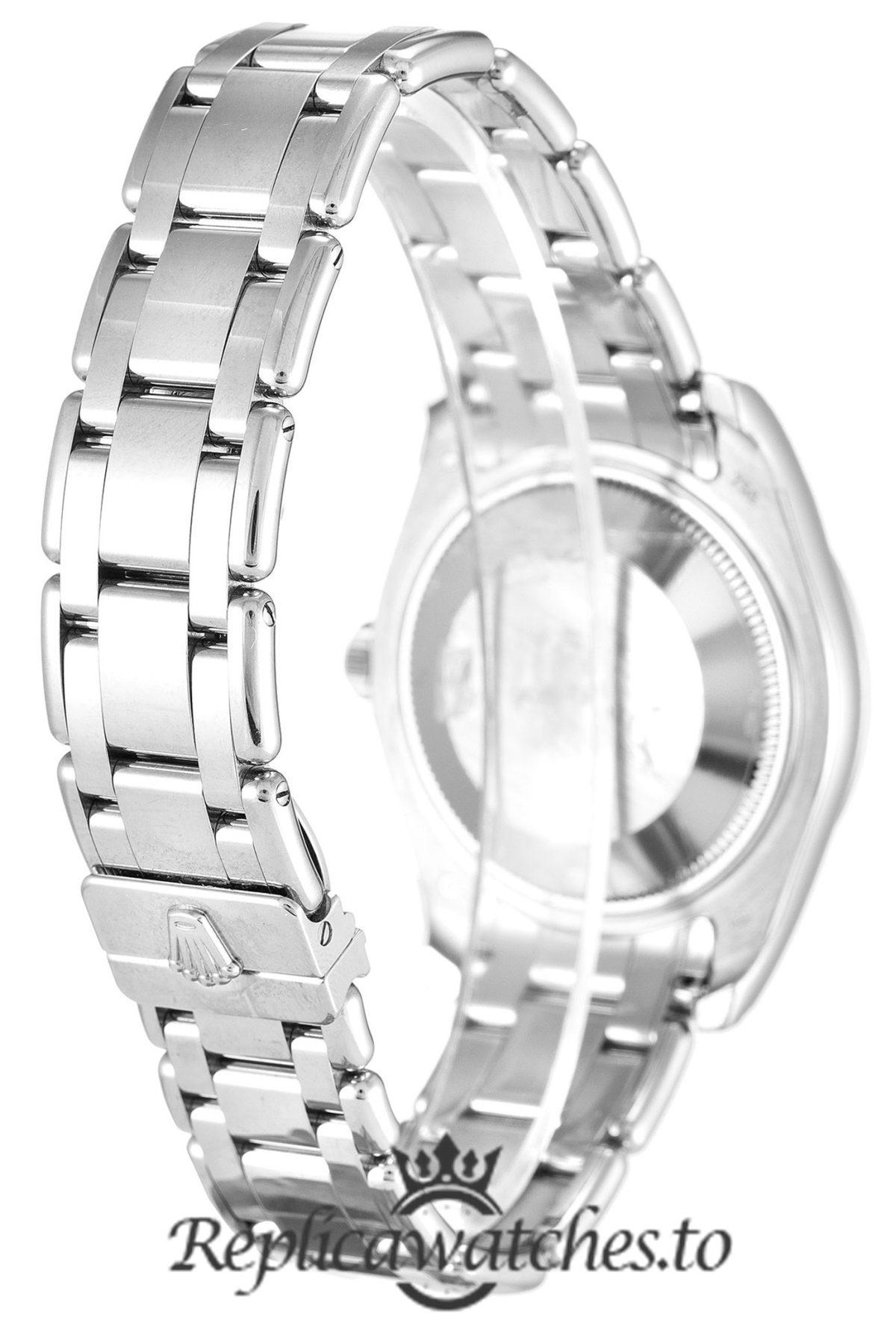 Rolex Datejust Replica 81209 001 Silver Strap 31MM