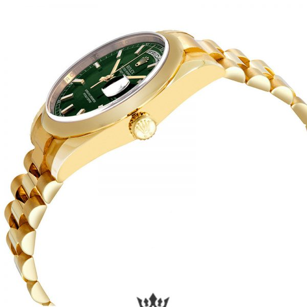 Rolex Day Date Replica 118208GNSP Yellow Gold Strap 36MM