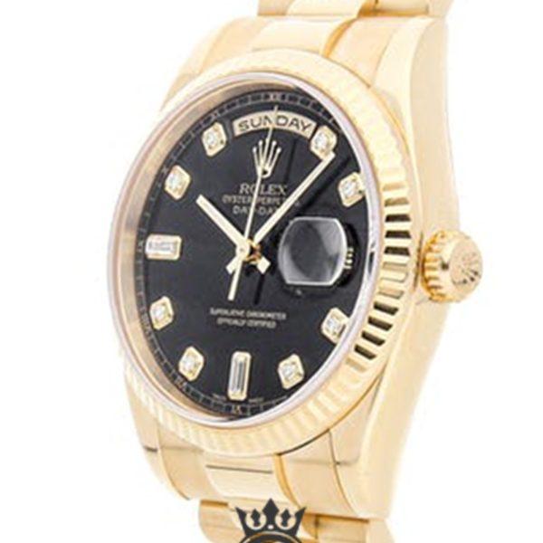 Rolex Day Date Replica 118238 001 Yellow Gold Strap 36MM