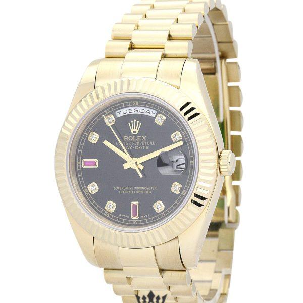Rolex Day Date Replica 118238 002 Yellow Gold Strap 36MM