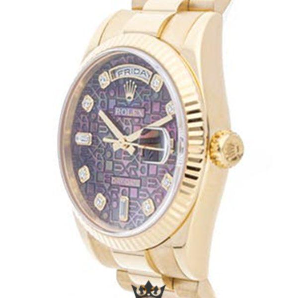 Rolex Day Date Replica 118238 Yellow Gold Strap 36MM