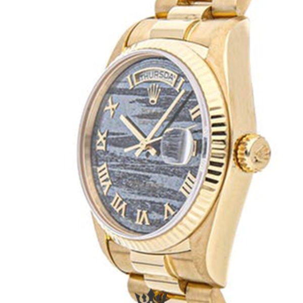 Rolex Day Date Replica 18038 001 Yellow Gold Strap 36MM