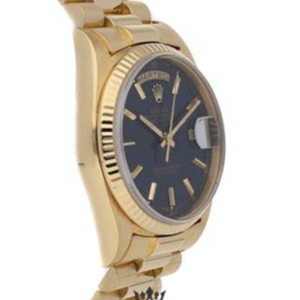 Rolex Day Date Replica 18238 001 Yellow Gold Strap 36MM