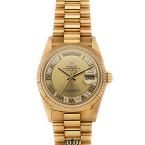 Rolex Day Date Replica 18238 Yellow Gold Strap 36MM