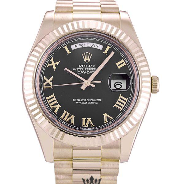 Rolex Day Date Replica 218235 Rose Gold Strap 41MM