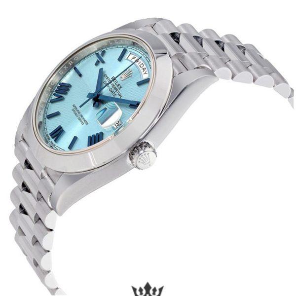 Rolex Day Date Replica 228206 004 Silver Strap 40MM