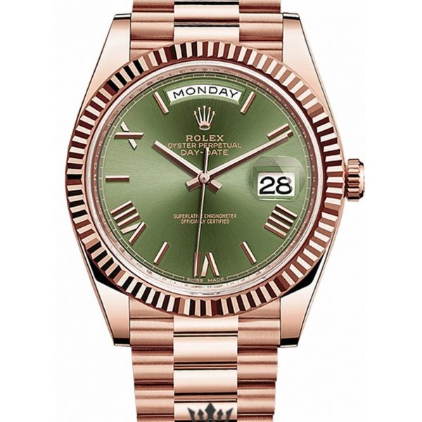 Rolex Day Date Replica 228235 002 Roman Markers Dial 40MM