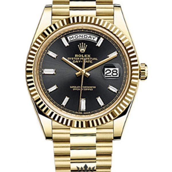 Rolex Day Date Replica 228238 Yellow Gold Strap 40MM