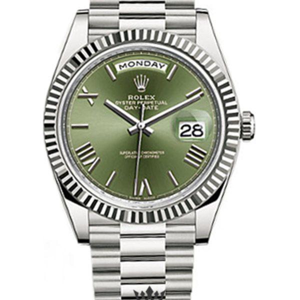 Rolex Day Date Replica 228239 003 White Gold Strap 40MM