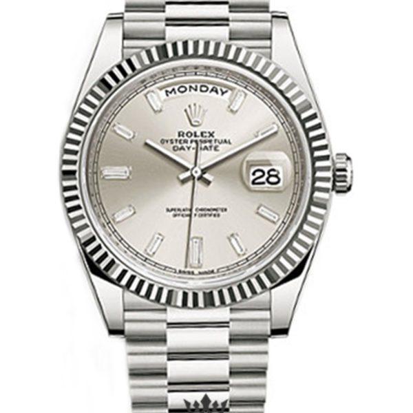Rolex Day Date Replica 228239 004 White Gold Strap 40MM
