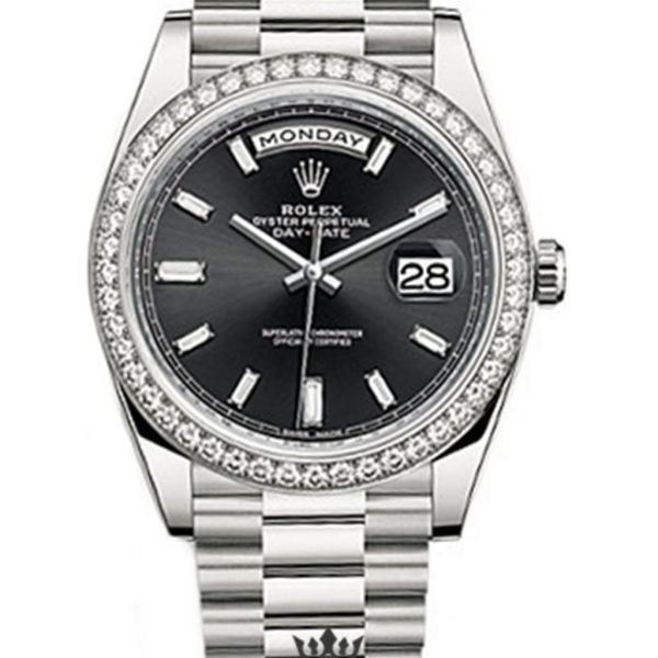 Rolex Day Date Replica 228349RBR White Gold Strap 40MM