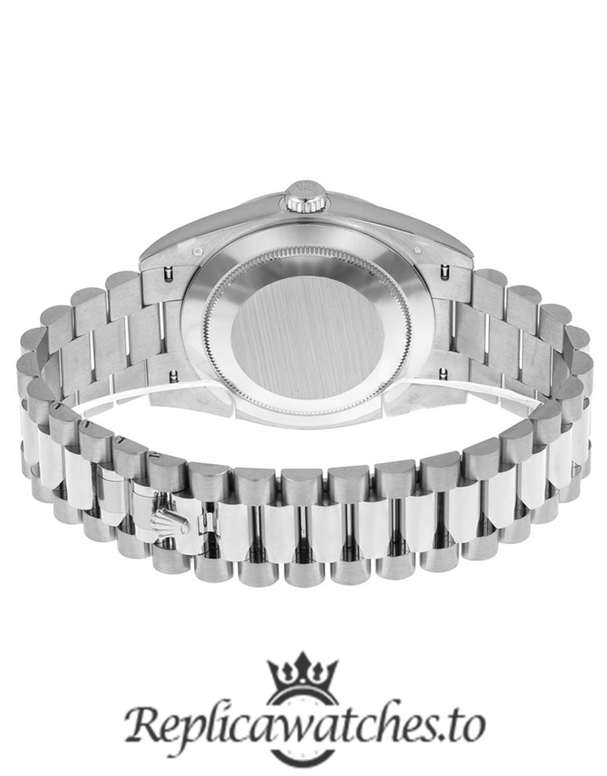 Rolex Day Date Replica 228396TBR Silver Strap 40MM