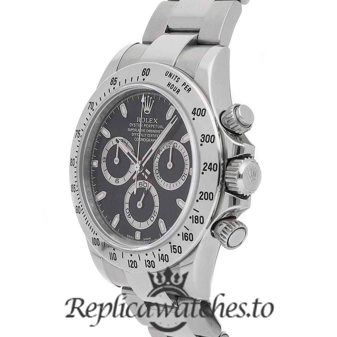 Rolex Daytona Replica 116500LN 001 White Gold Strap 40MM