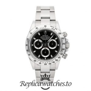 Rolex Daytona Replica 116500LN 001 White Gold Strap 40MM