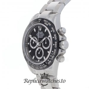 Rolex Daytona Replica 116500LN White Gold Strap 40MM