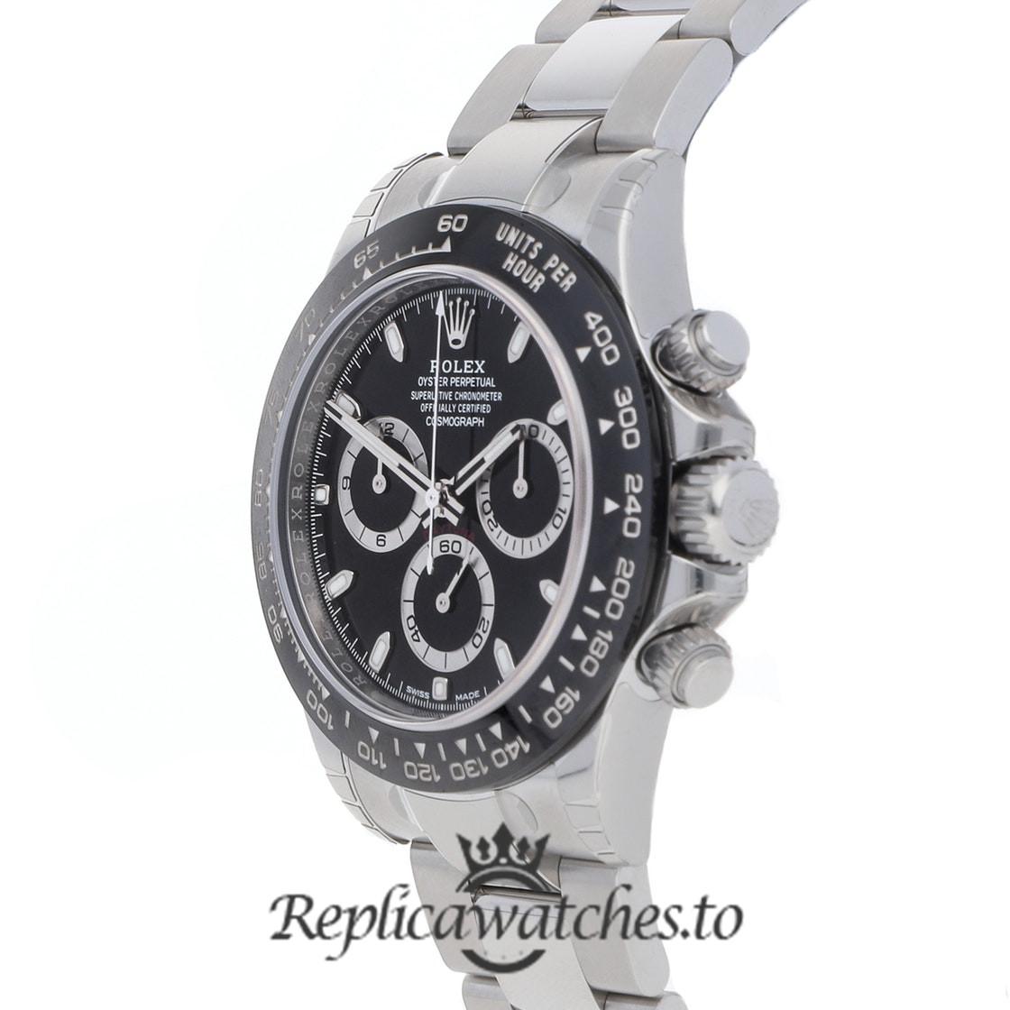 Rolex Daytona Replica 116500LN White Gold Strap 40MM