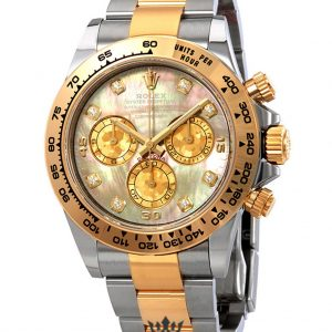 Rolex Daytona Replica 116503BKMDO Yellow Gold Bezel 40MM
