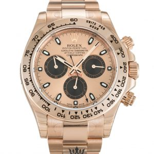 Rolex Daytona Replica 116505 002 Rose Gold Strap 40MM