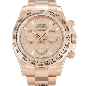 Rolex Daytona Replica 116505 003 Rose Gold Strap 40MM