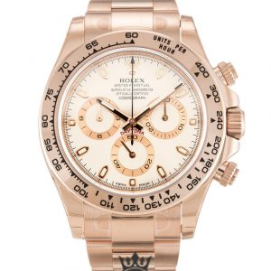Rolex Daytona Replica 116505 004 Rose Gold Strap 40MM