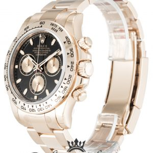 Rolex Daytona Replica 116505 Rose Gold Strap 40MM
