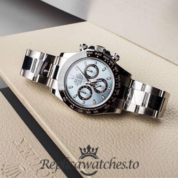 Rolex Daytona Replica 116506 001 Silver Strap 40MM