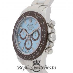 Rolex Daytona Replica 116506 Silver Strap 40MM