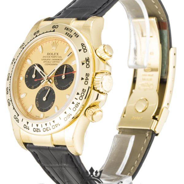 Rolex Daytona Replica 116518 001 Black Strap 40MM