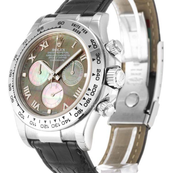 Rolex Daytona Replica 116519 003 Black Strap 40MM