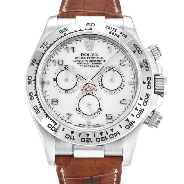 Rolex Daytona Replica 116519 005 Brown Strap 40MM