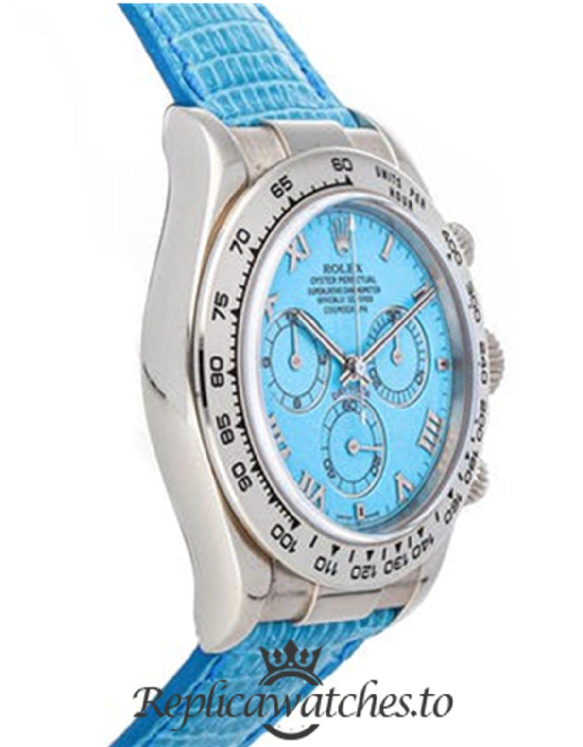 Rolex Daytona Replica 116519 Turquoise Dial 40MM