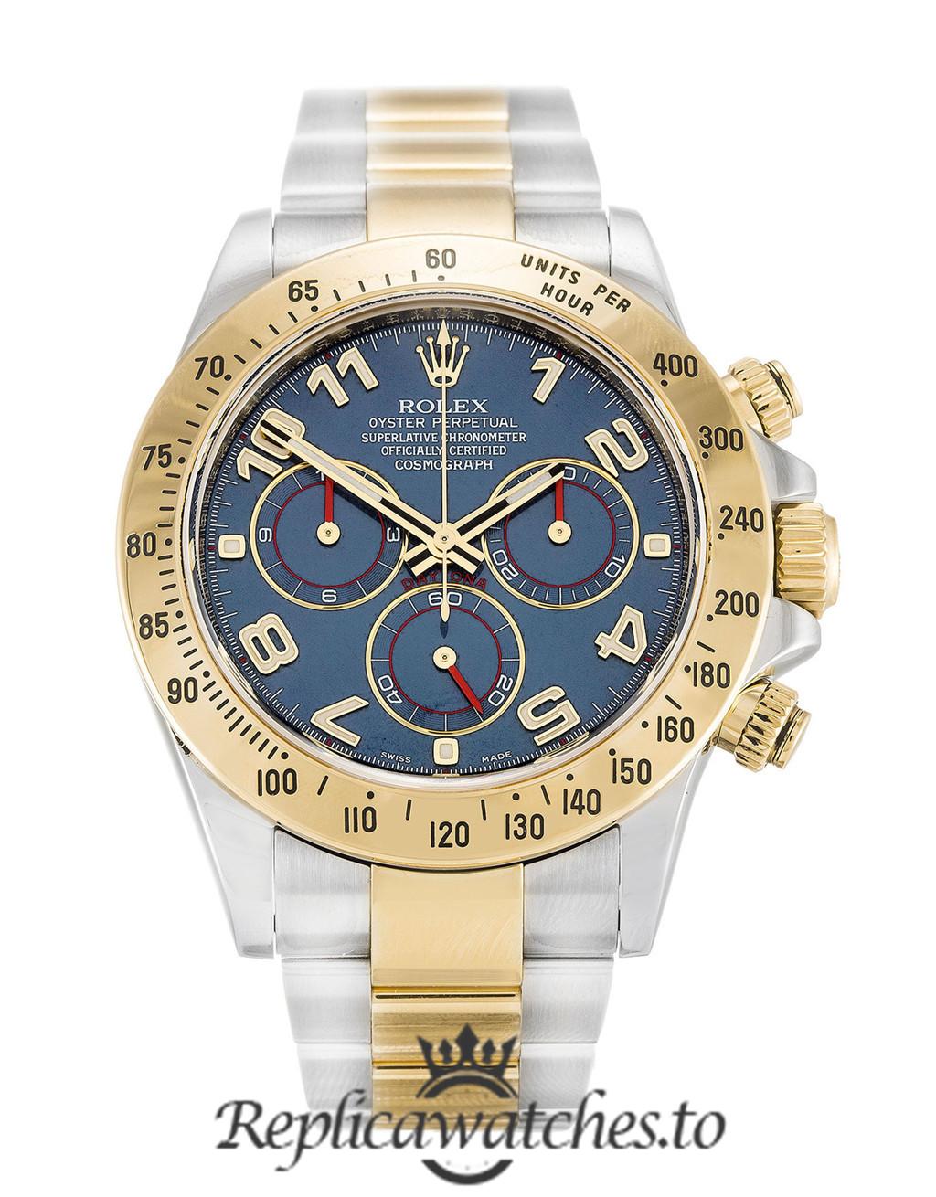 Rolex Daytona Replica 116523 006 Blue Dial 40MM