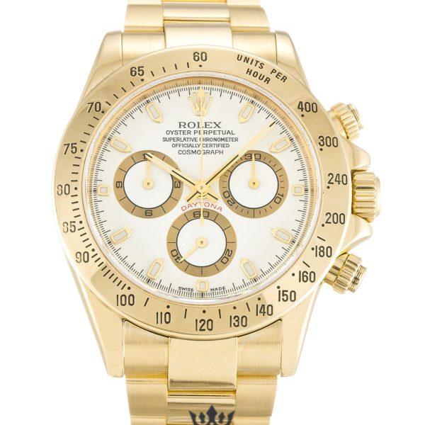 Rolex Daytona Replica 116528 004 Yellow Gold Strap 40MM