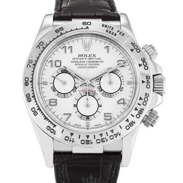 Rolex Daytona Replica 16519 Black Strap 40MM