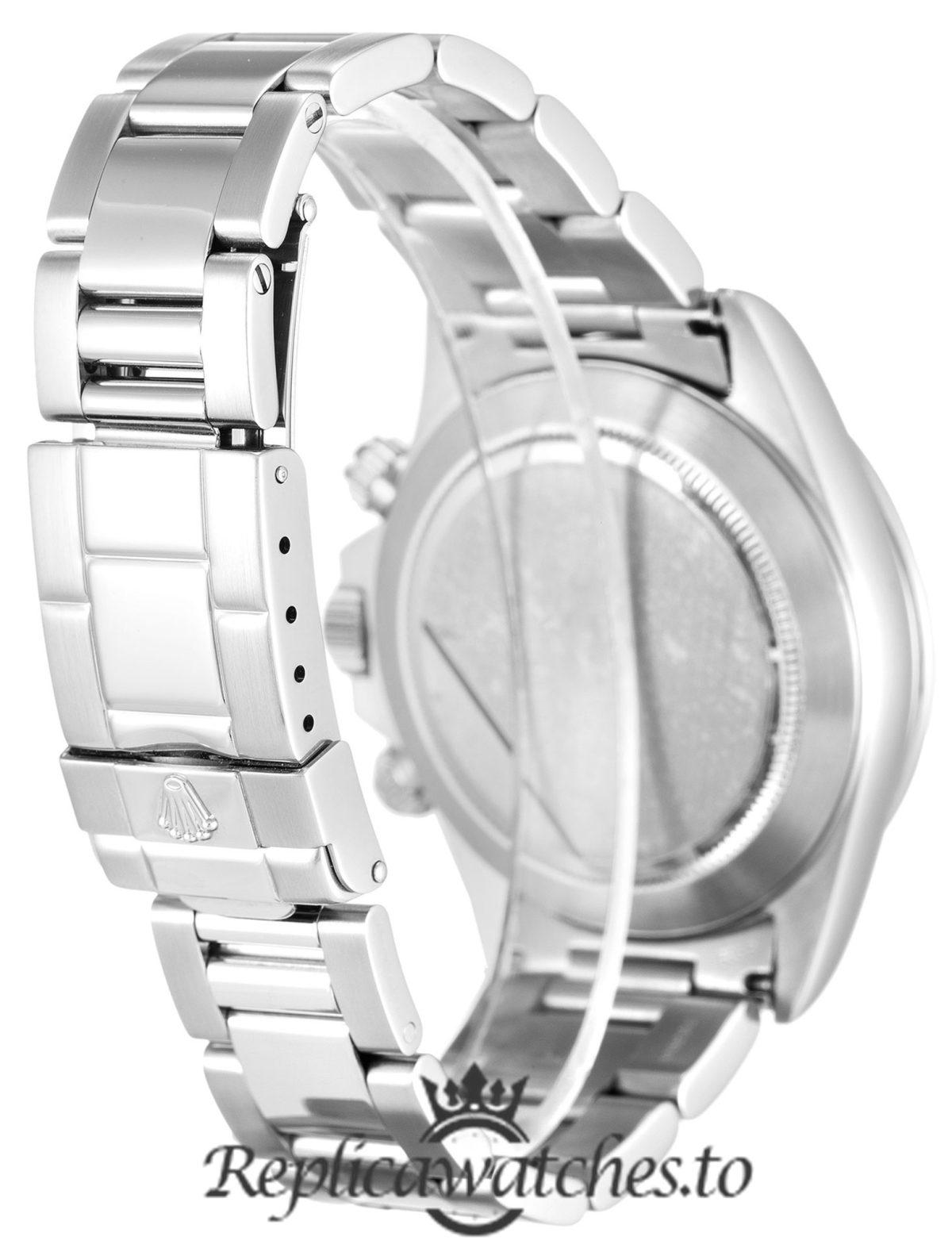 Rolex Daytona Replica 16520 001 Silver Strap 40MM