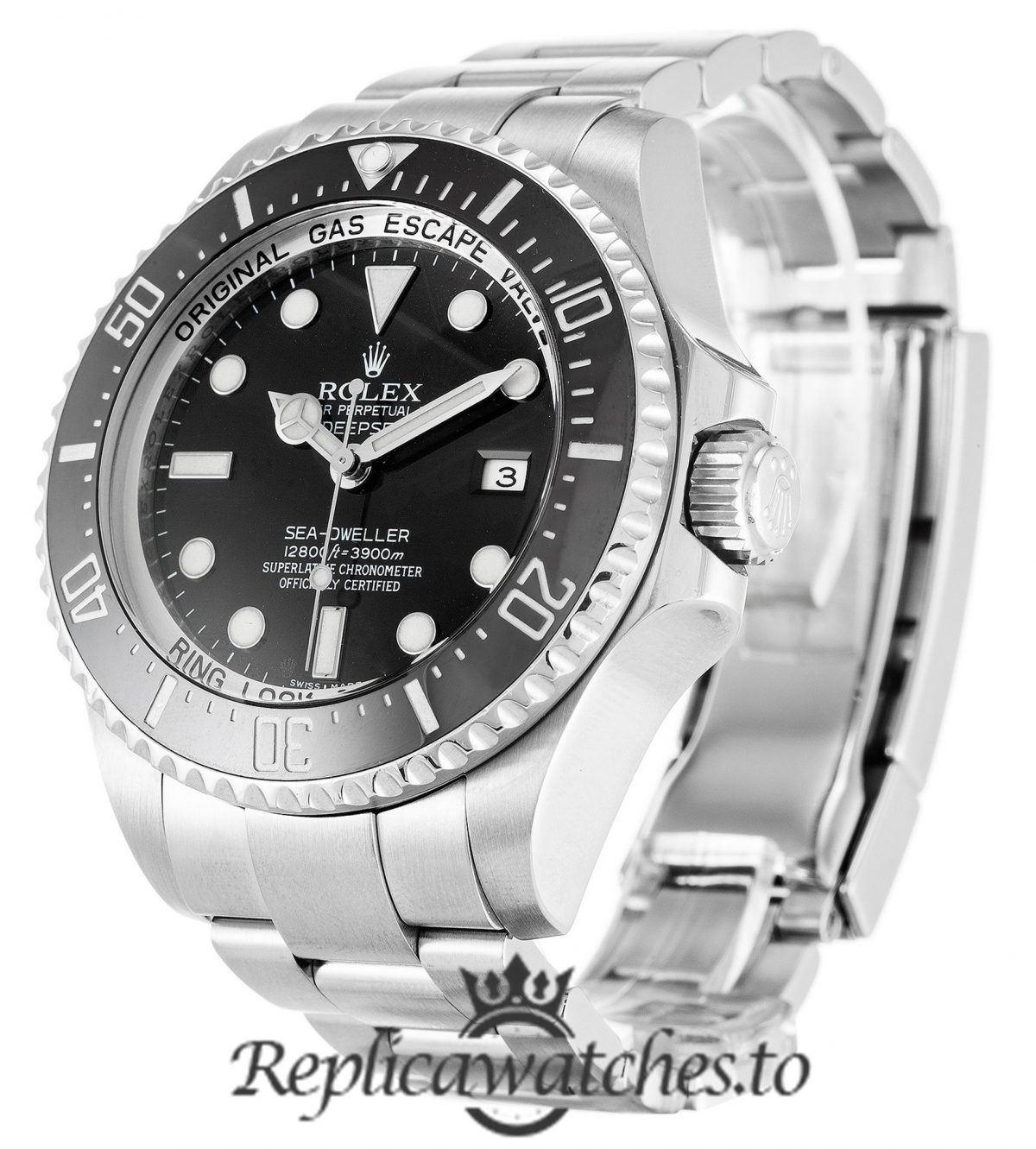 Rolex Deepsea Replica 116660 Black Bezel 44MM