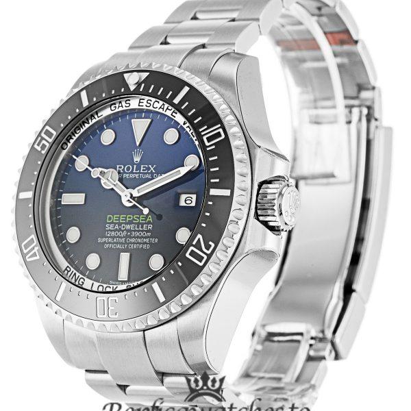 Rolex Deepsea Replica 116660-D-Blue Black Bezel 44MM