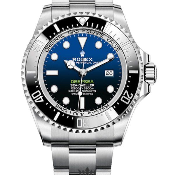 Rolex Deepsea Replica 126660 Black Bezel 44MM