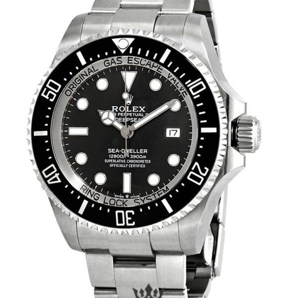 Rolex Deepsea Replica 126660BKSO Silver Strap 44MM