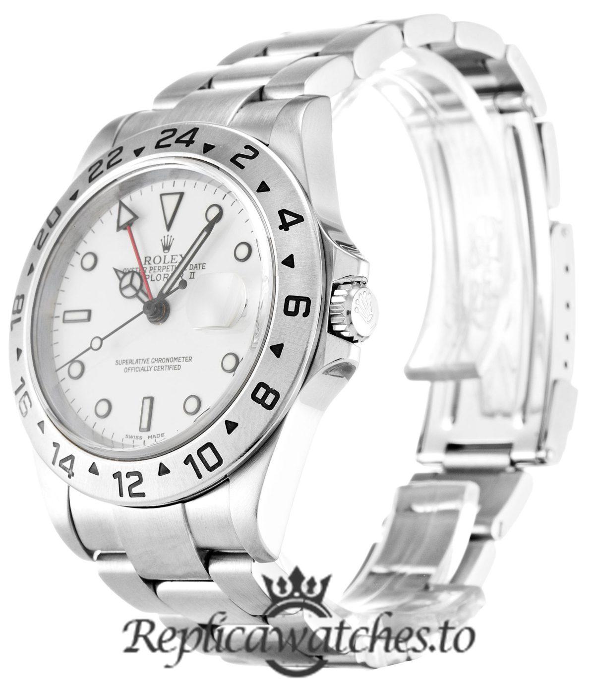 Rolex Explorer Replica 16570 Silver Strap 40MM