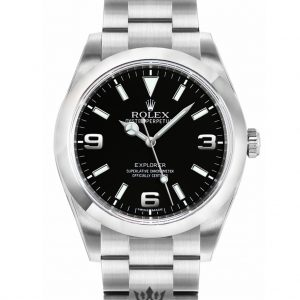 Rolex Explorer Replica 214270 Silver Strap 39MM